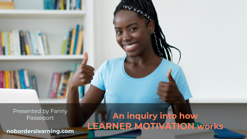 Webinar on Learner Motivation!